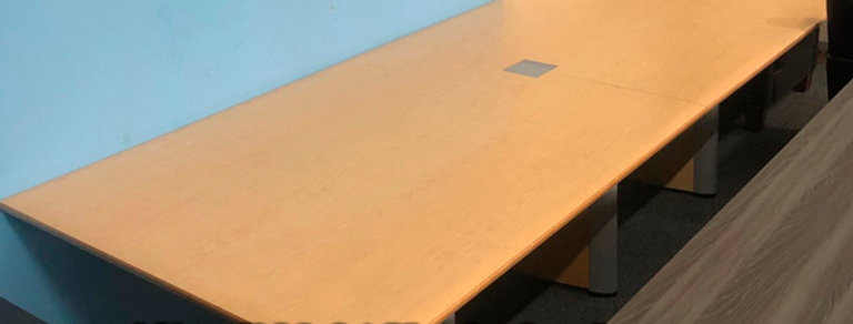 Light Maple 10' x 4' Conference Table