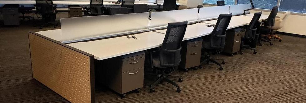 Enworks Sit/Stand Benching Systems