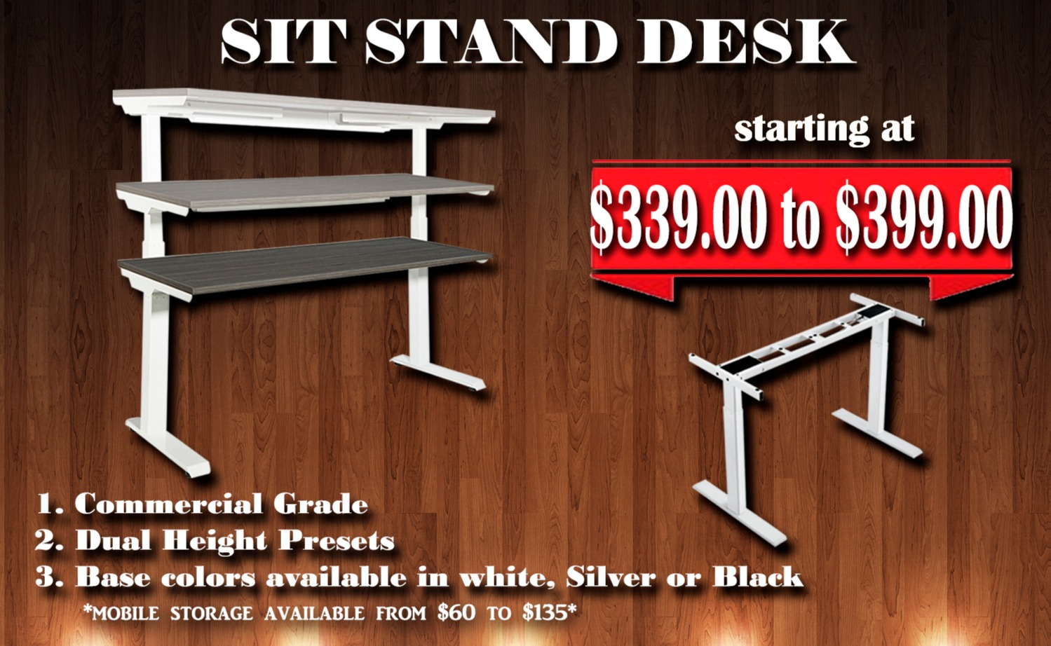 Sit Stand Desk SPECIAL