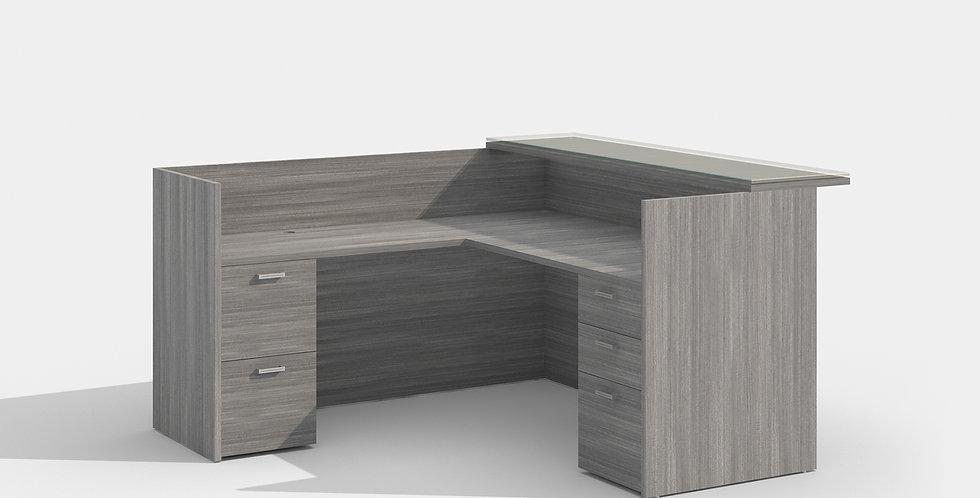 Cherryman Reception Desk (Grey)