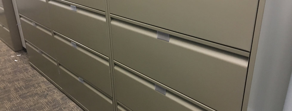 Knoll 4 Drawer Lateral File