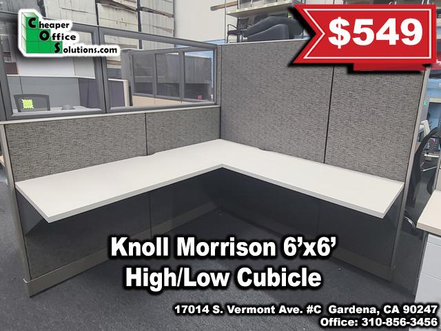 Knoll Morrison 6'x6' Cubicle