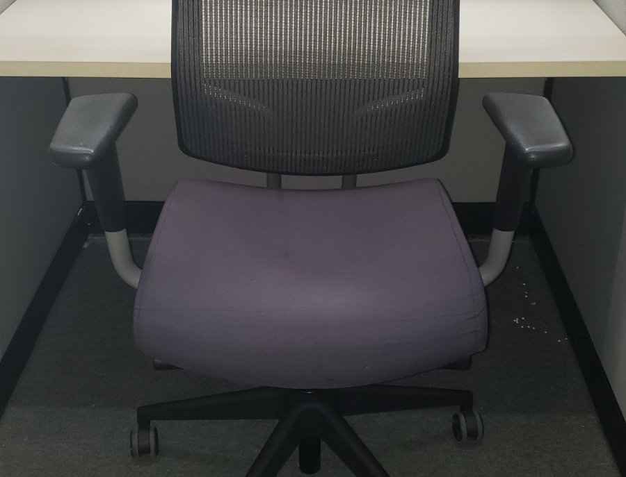 SitOnIt Focus Purple Ergonomic Chair