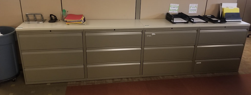 Knoll Calibre 3 Drawer Laterals