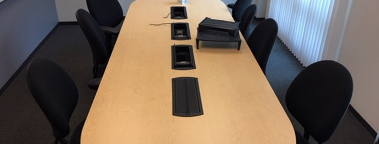 12' Maple Conference Table