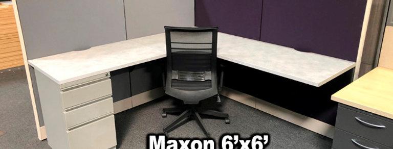 Maxon 6x6 Workstations