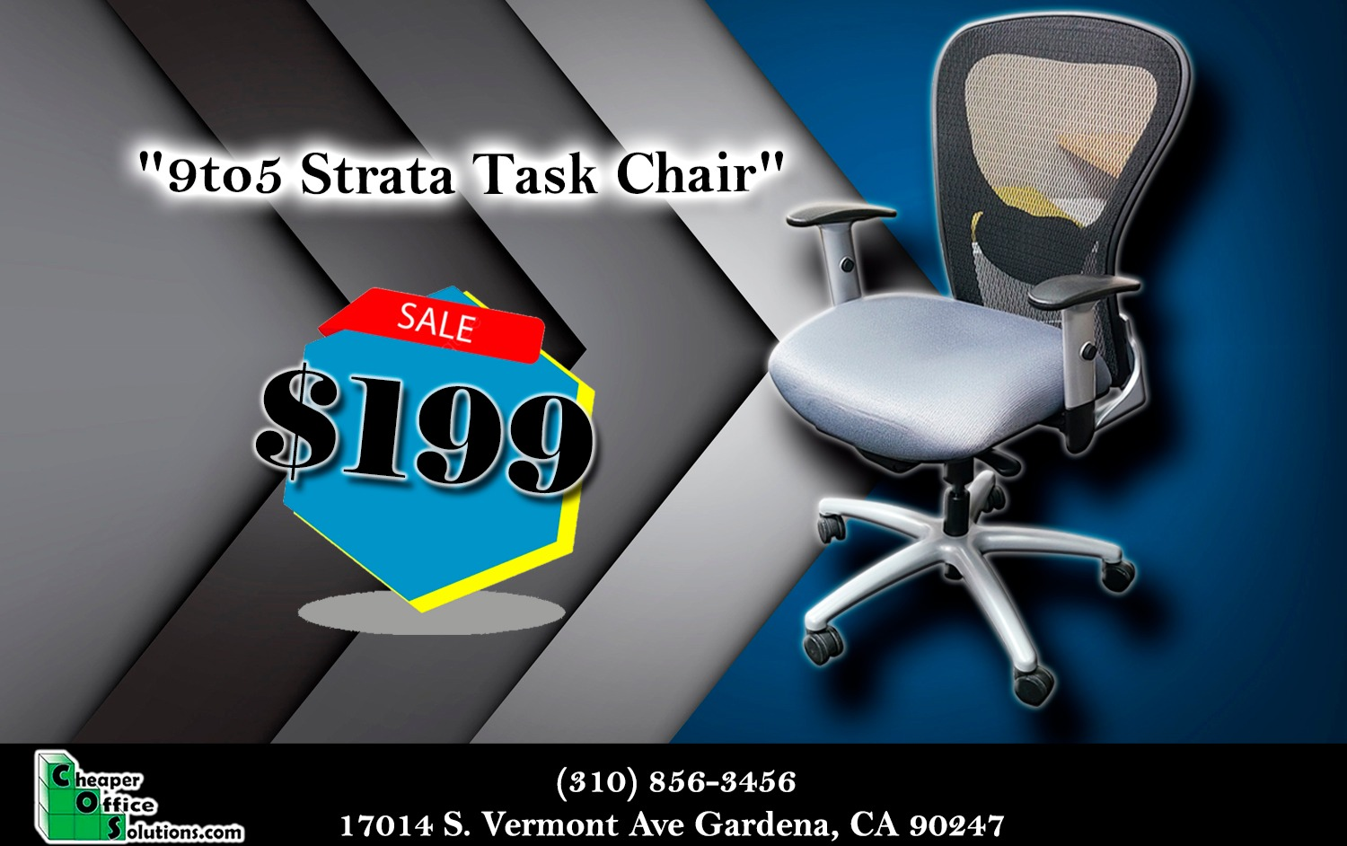 9to5 Strata Task Chair