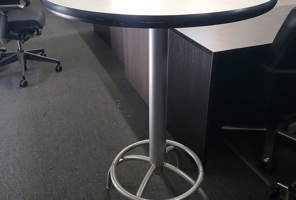 Bar Height Table With Foot Ring