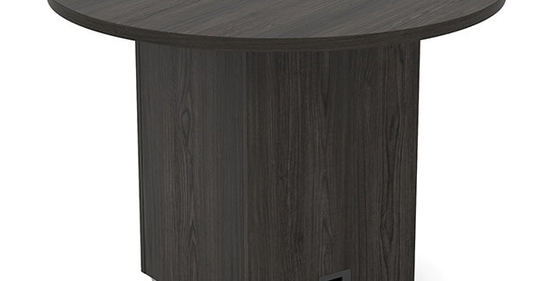 "Tuxedo 48"" Round Meeting Table"