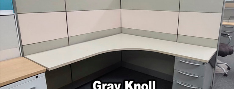 Knoll Dividends 6'x6' Gray Cubicles