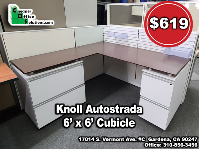 Knoll Autostrada 6' x 6' Cubicle