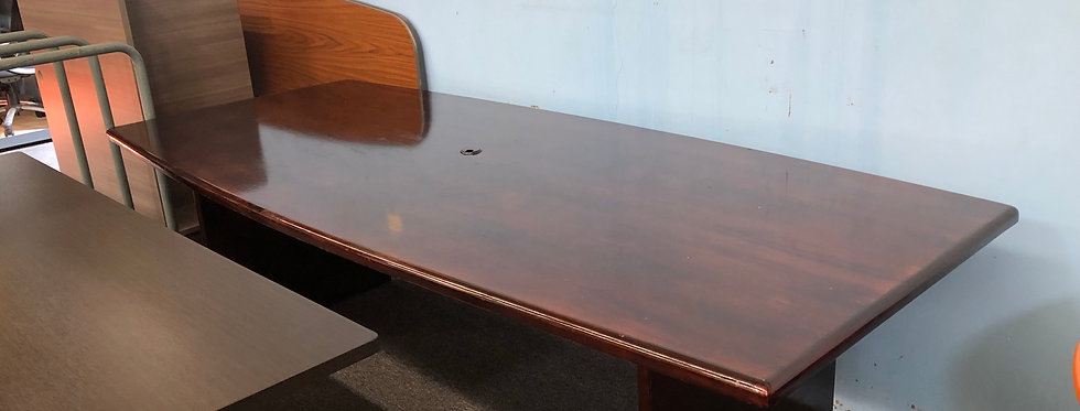 8x4 Veneer Conference Table
