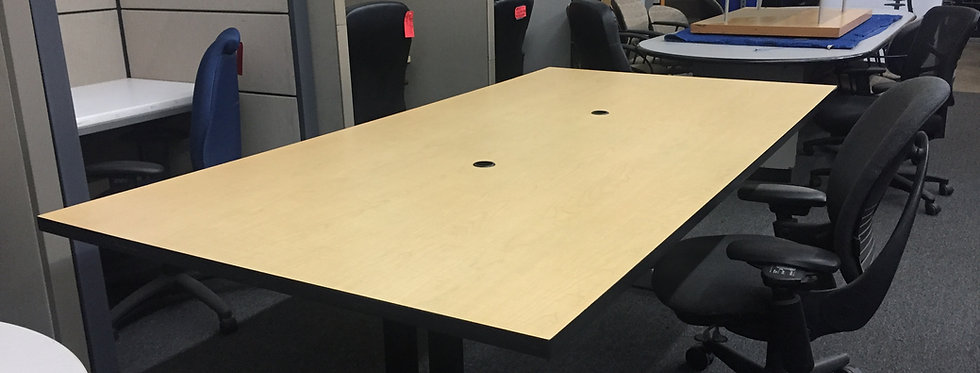 9x4 Maple Conference Table