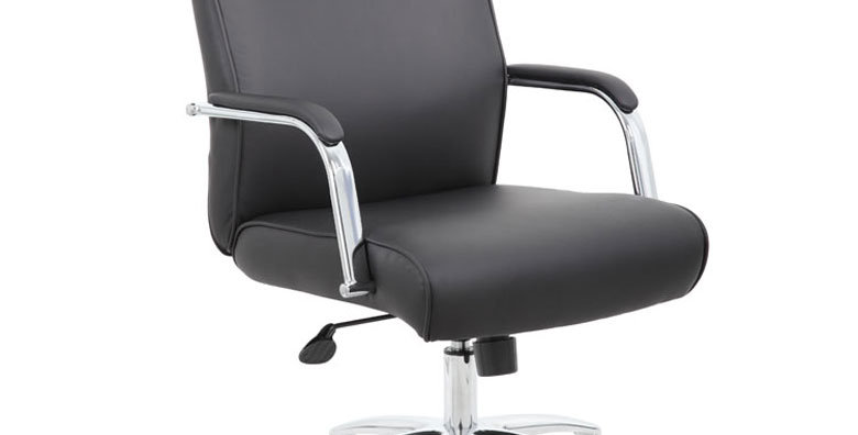 Boss Modern Executive Black CaressoftPlus Conference Chair
