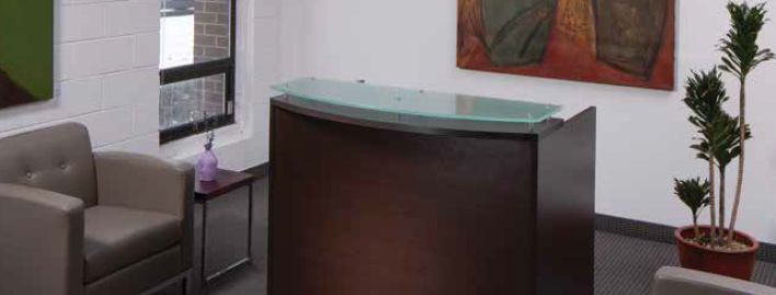 OSP 4' Reception Desk