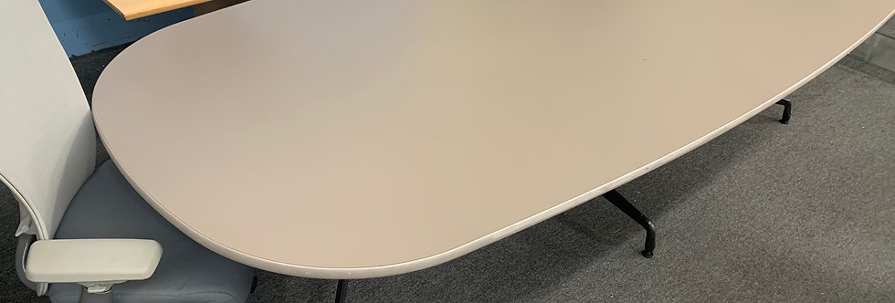 10'x4' Oval Conference Table
