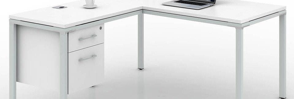 Boss Simple System L-Shape Desk