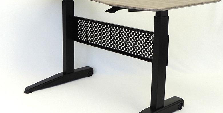 Boss Height Adjustable Desk - Grey