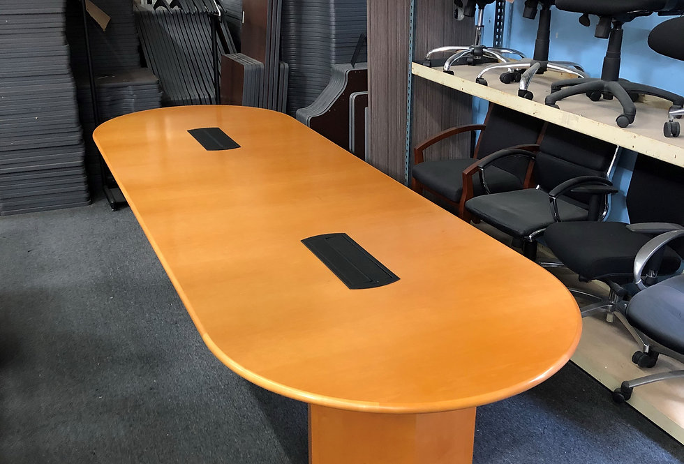 12x4 Veneer Conference Table