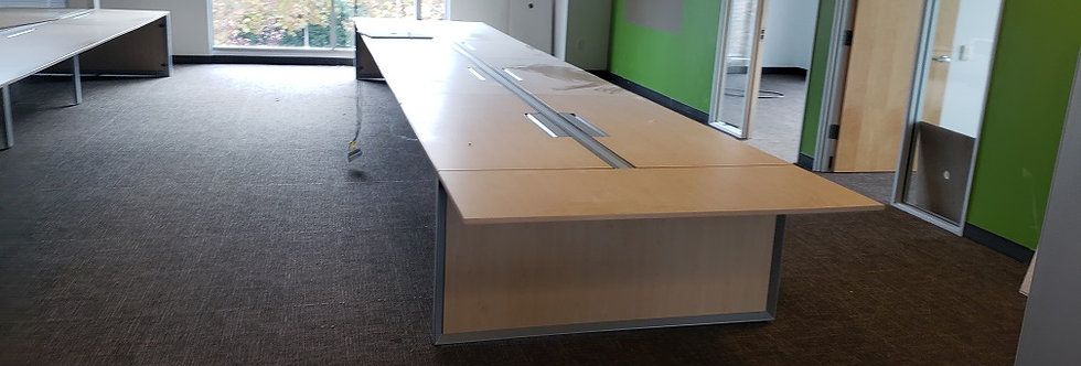 Steelcase Benching Systems - Maple