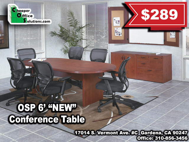 "OSP 6' ""NEW"" Conference Table 1"