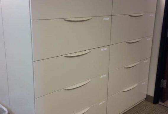 Haworth 5 Drawer Lateral Files