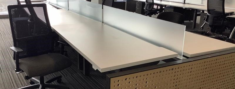 Allsteel Benching System, Sit Stand Combo