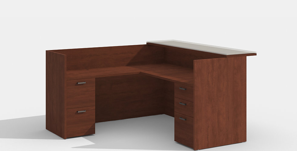 Cherryman Reception Desk (Cherry)