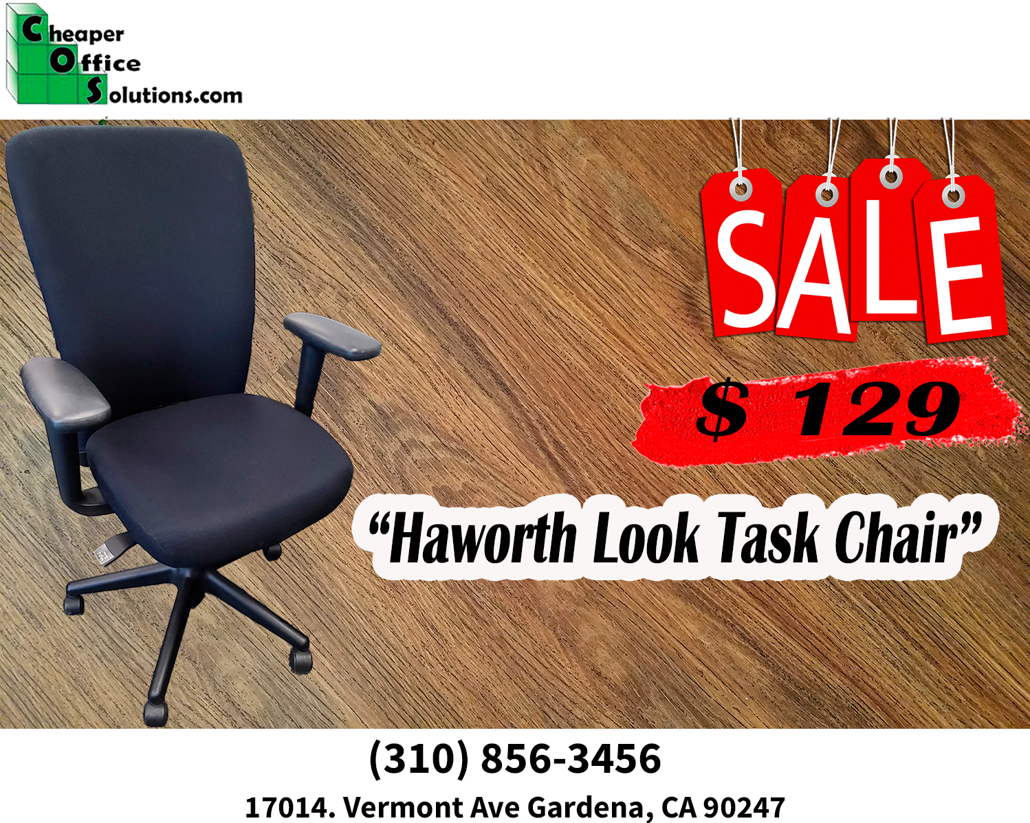 "Haworth ""Look"" High-Back Task Chair"
