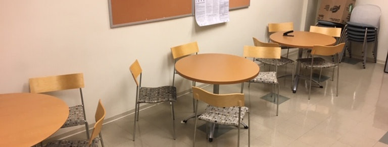 "36"" Steelcase Lunchroom Tables"