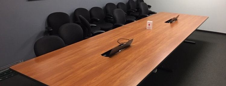 Cherry 24' Conference table