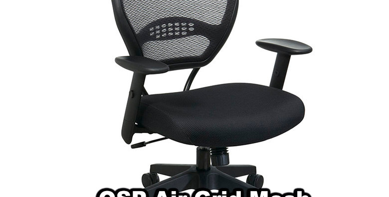 Space Seating Mesh Task Chair