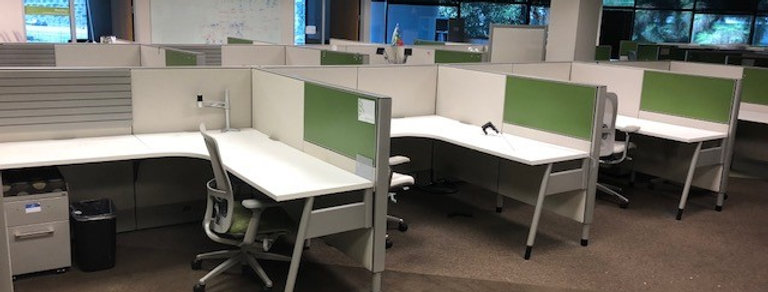 Haworth Moxie 6x6 Workstations