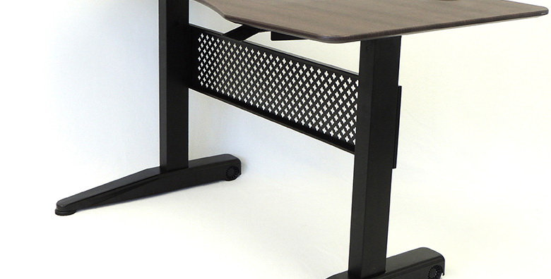 Boss Height Adjustable Desk - Mocha