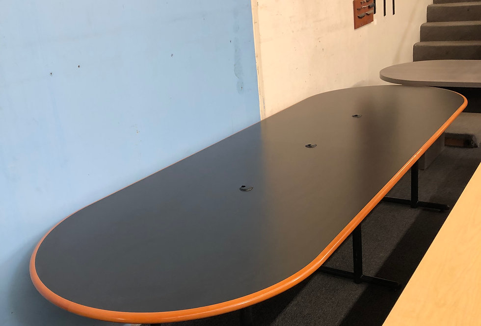 10x4 Oval Conference Table