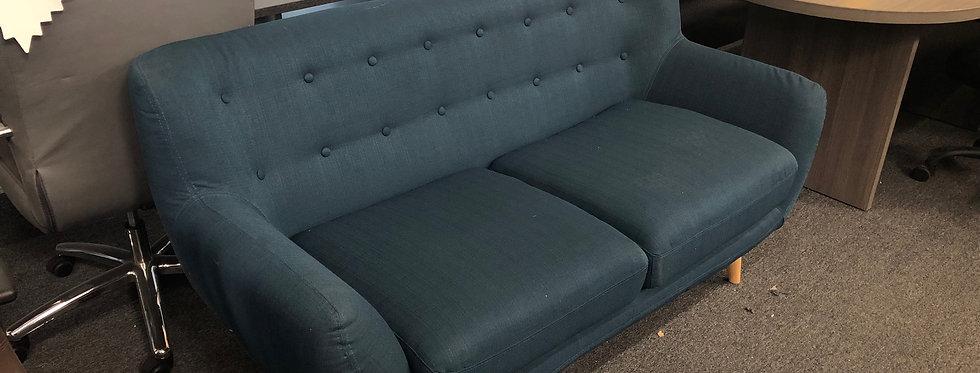 Modern Sapphire Love Seat Sofa