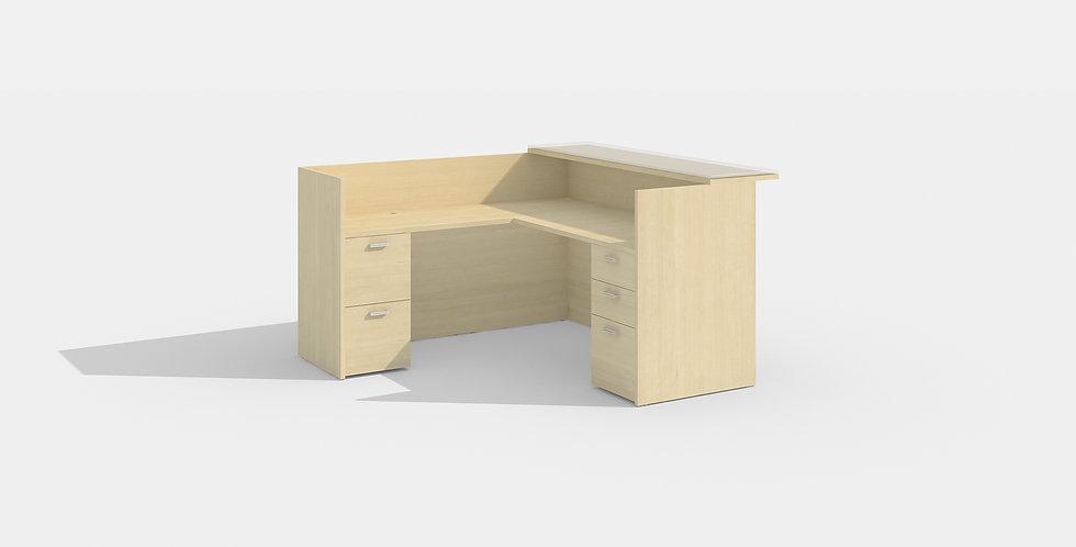 Cherryman Reception Desk (Maple)