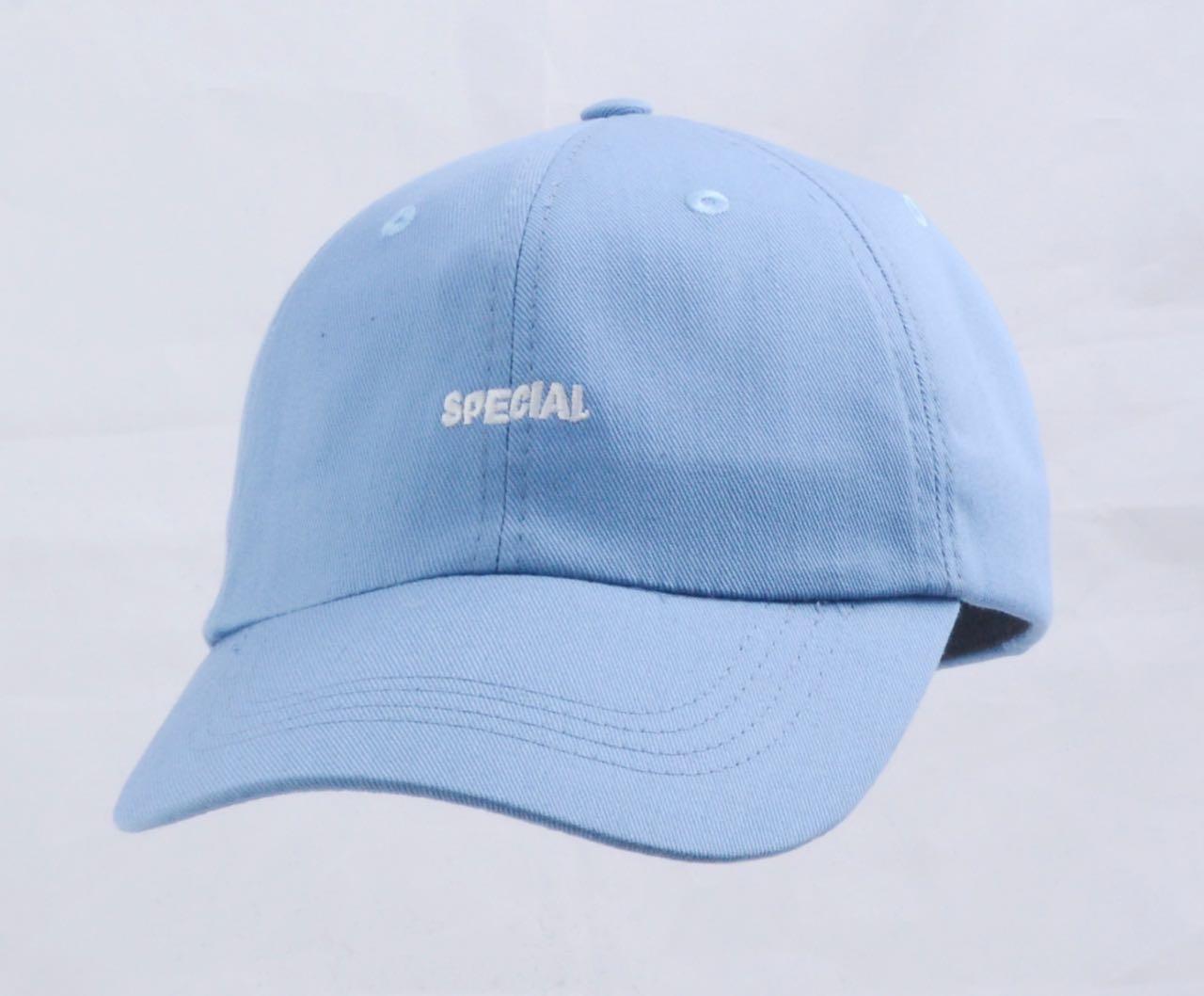 Бейсболка 25 голубая