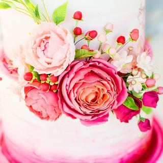 Burgandy Blush Florals