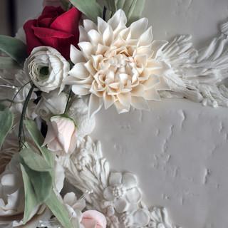 Winter white Florals