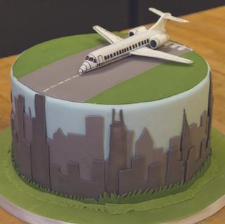 Plane Groom Cake