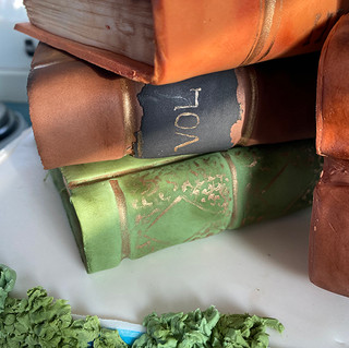 Book Groom Cake