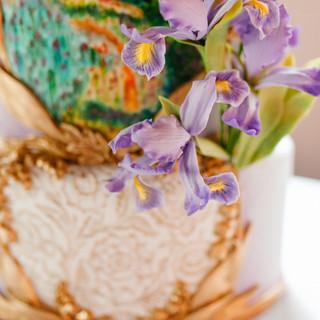 French Iris Close-up