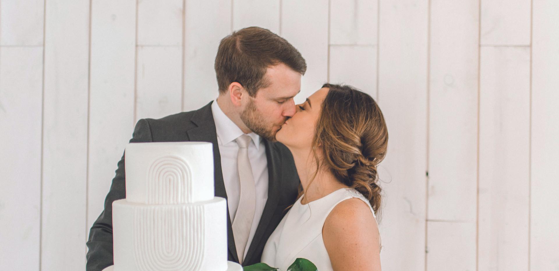 Botanical Inspired Wedding Cake