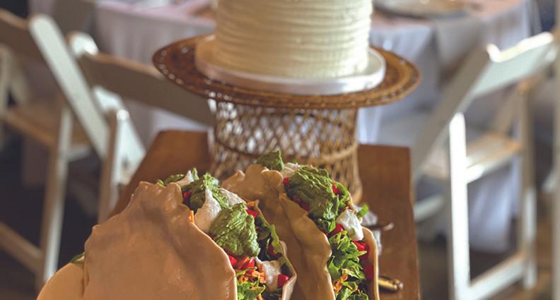 Taco Grooms Cake