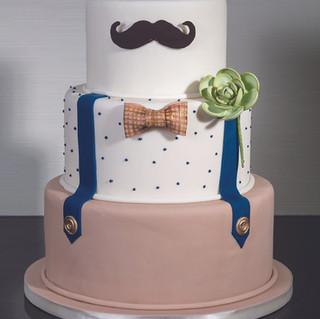 Dapper Fellow Groom Cake