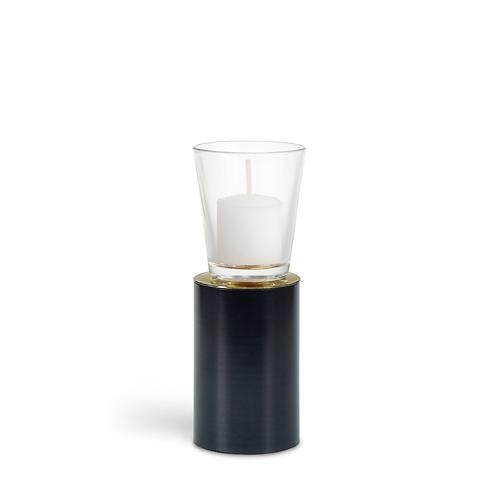 KAN - Medium - Black - Candle Holder