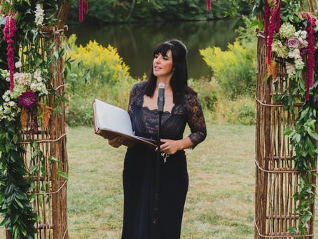 Hiring a Wedding Officiant