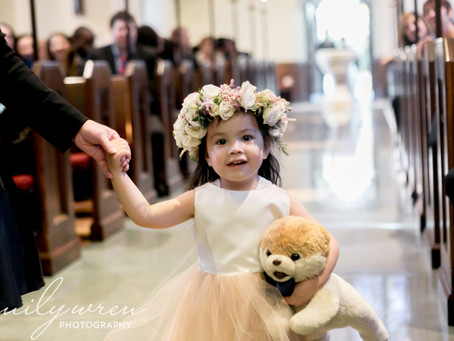 Roles for Children at your Wedding