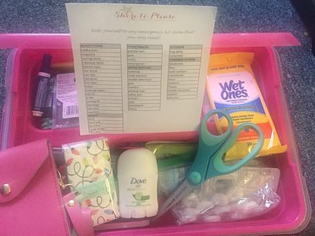 Your Wedding Day Emergency Kit